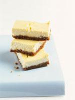 Cheesecake with biscuit base (Spekulatius cookies)