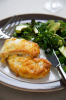 Parmesan Chicken with Side Salad