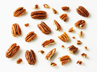 Pecans,whole and pieces