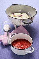 Ingredients for Parmigiana di melanzane