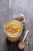Peach jam with spices