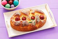 Tsourekia (Greek Easter bread)
