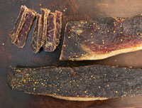 Biltong (Dried meat�CSouth Africa)