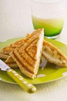 Banana jaffles (Toasted sandwiches,Australia)