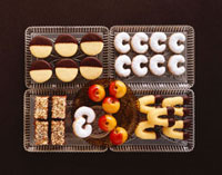 Assorted Christmas biscuits and sweets (Austria)