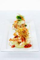 Seafood appetiser platter