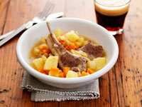 Irish stew (Lamb and potato stew)
