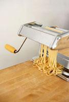 Making Tagliatelle with a Pasta Maker