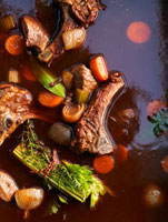 Demi-glace sauce (basic sauce from France)