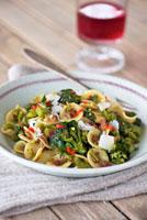 Orecchiette with broccoli,pancetta and Parmesan