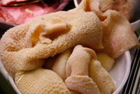 Fresh Tripe in Butchers Display at Market in Florence,Ital