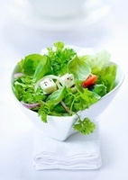 Green salad with feta