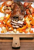 Roast pork with root vegetables 22199065200| 写真素材・ストックフォト・画像・イラスト素材|アマナイメージズ