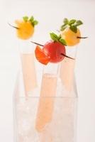 Tomato stock with vanilla