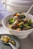 Winter vegetable and beef stew