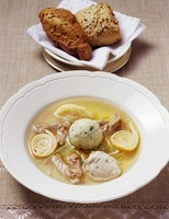 Allgaeu 'wedding soup'