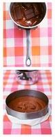 Preparing gateau berbelle (French chocolate cake) 22199067613| 写真素材・ストックフォト・画像・イラスト素材|アマナイメージズ