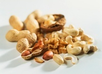 An assortment of nuts