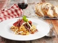 Spaghetti with Bresaola