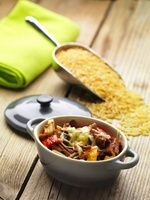 Beef and lamb stew with vegetables (Greece)