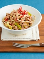 Noodles with minced pork