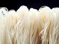 Rice noodles (macro zoom)