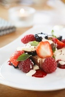Kaiserschmarrn (shredded sugared pancake from Austria) with