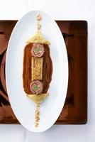 Venison roulade with bread dumpling and savoy cabbage lasagn 22199069689| 写真素材・ストックフォト・画像・イラスト素材|アマナイメージズ