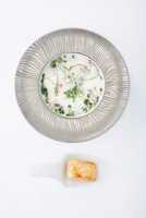 Meadow herb soup