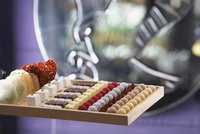 Assorted petit fours and chocolates