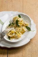 Tortellini alla salvia (tortellini with sage, Emilia Romagna