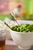 Fave e pecorino (broad beans with pecorino, Italy)