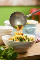 Minestrone d'estate (summer vegetable soup)