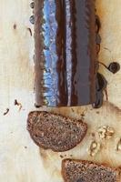 Czech mock saddle of venison with walnuts
