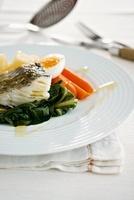 Bacalhau com Todos (cod with vegetables and egg, Portugal)