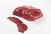 Beef rump from inside the leg