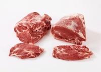 Pork steaks and neck steaks