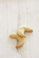 Crescent Shaped Mexican Wedding Cookies