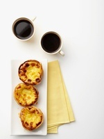 Tartlets and coffee