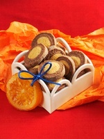 Chocolate-orange biscuits