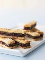 Rugelach (Jewish cakes) with jam