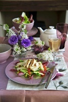 Tea smoked chicken salad
