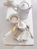 Cardamom coffee with milk foam