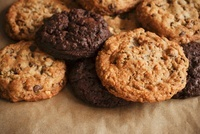 Double Chocolate Chip and Chocolate Chip Cookies
