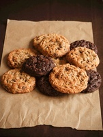 Chocolate Chip and Double Chocolate Chip Cookies; On Paper