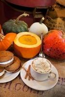 Pumpkin Soup, Pumpkin Whoopie Pies and Pumpkin Cappuccino