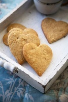 Heart Shaped Speculaas; A Dutch Cookie