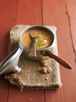 Cream of chestnut soup 22199072051| 写真素材・ストックフォト・画像・イラスト素材|アマナイメージズ