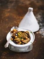 Beef tajine with eggplant