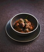 Beef meat balls with tomato sauce